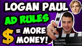 (LIVE @6pm EST) Why New Logan Paul Ad Rules Make Me MORE Money On YouTube