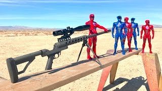 trick shot with power rangers?