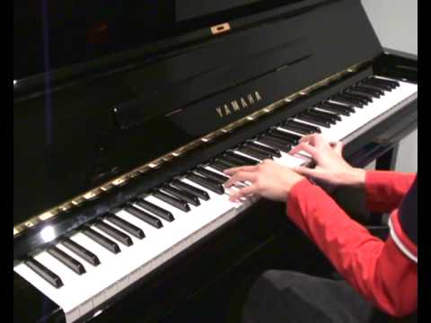 Coldplay - The Scientist (piano cover) improved version