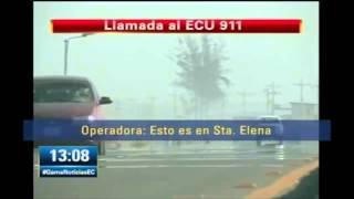 Repeat youtube video Llamada de auxilio de Sharon La Hechizera al Ecu 911 Dia del accidente