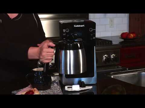 cuisinart-perfecttemp-12-cup-thermal-programmable-coffeemaker-(dcc-2900)-demo-video