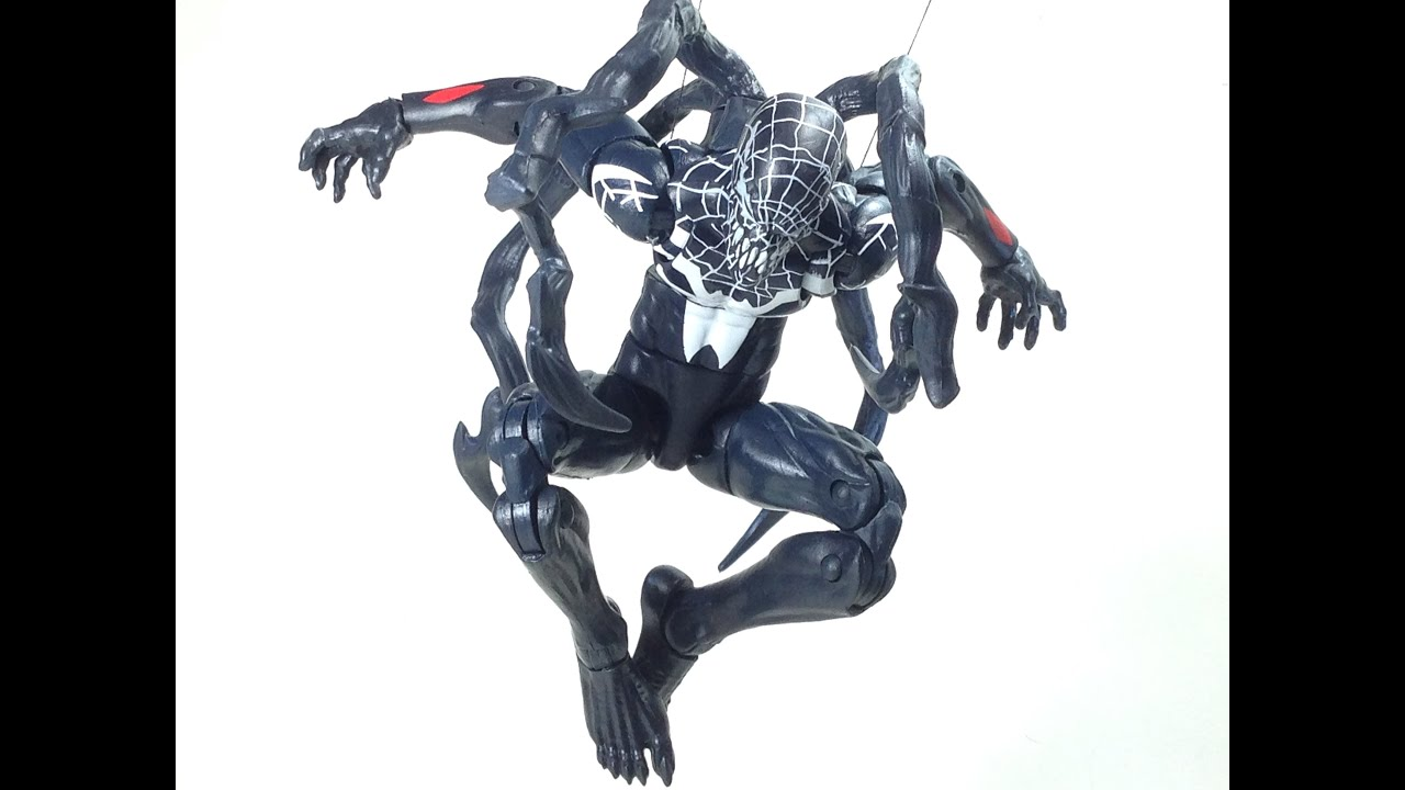 superior venom marvel legends toy review youtube