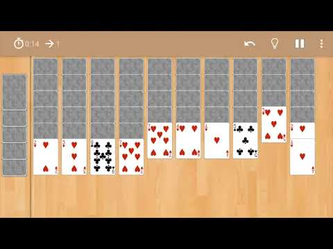 Android Spider Solitaire