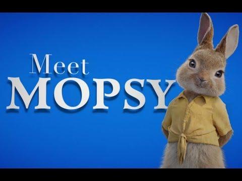 Meet Mopsy With Elizabeth Debicki  PETER RABBIT
