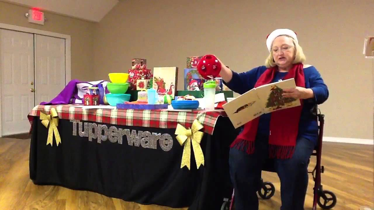 The Night Before Christmas Tupperware Party - YouTube