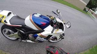 is a Honda CBR 600RR Big Enough for a Man?