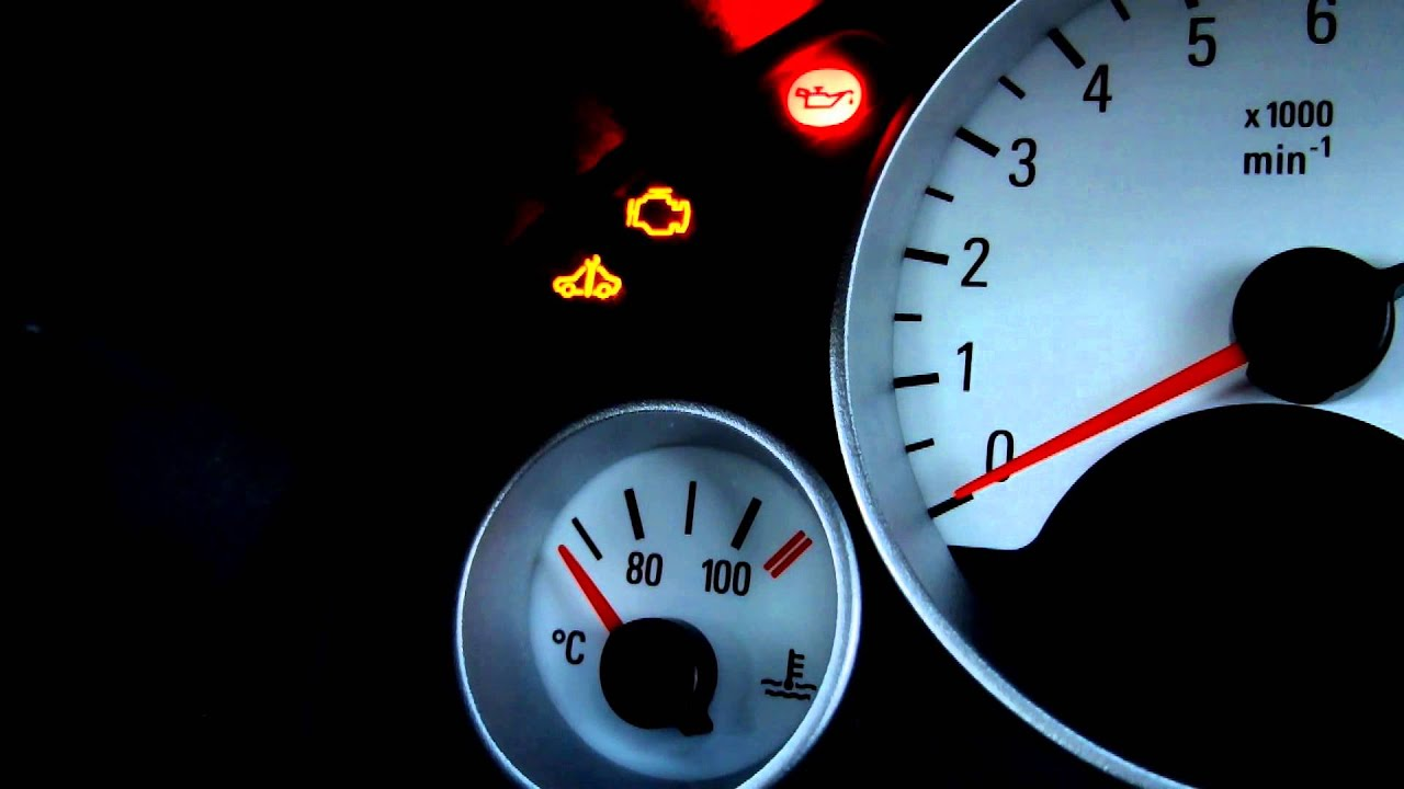 Vauxhall/Opel Corsa C how to read fault codes on the dash