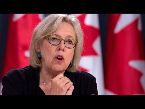 Elizabeth May on Canada's climate change deal