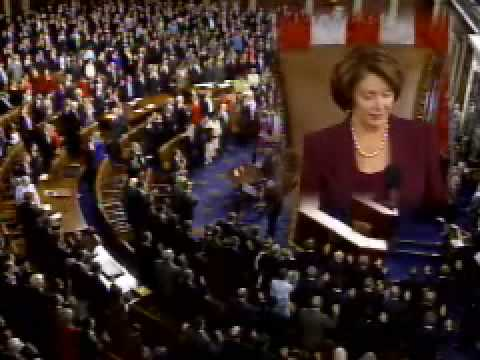 Crowley is sworn-in as a Member of the 110th Congress