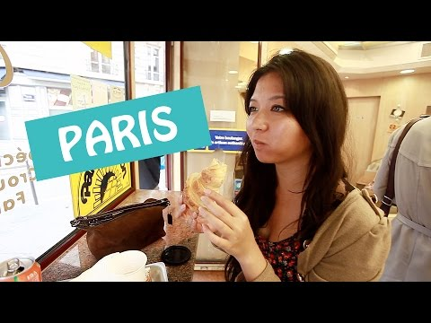 Travel Vlog: Eating and Getting Lost in Paris (Galeries Lafayette, Le Marais, Croissants!)