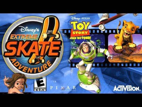Disney's Extreme Skate Adventure (PS2) Full Walkthrough