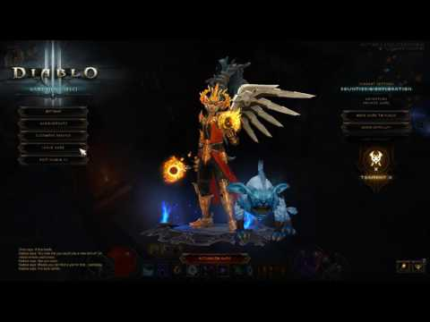 Diablo III Solo Wizard GR 70 / Boss Mode attempt