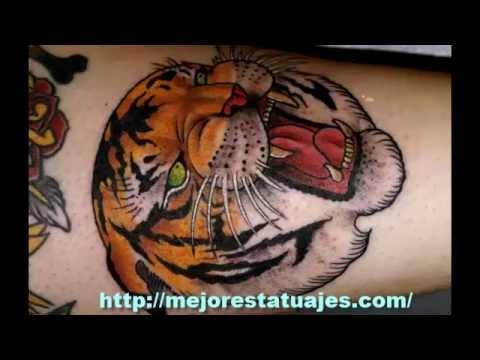 Los Mejores Tatuajes De Tigres Youtube