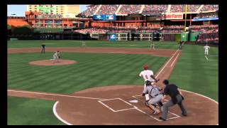 MLB 10 The Show Phillies Vs Giants Game 1 Gameplay Part 1 of 4