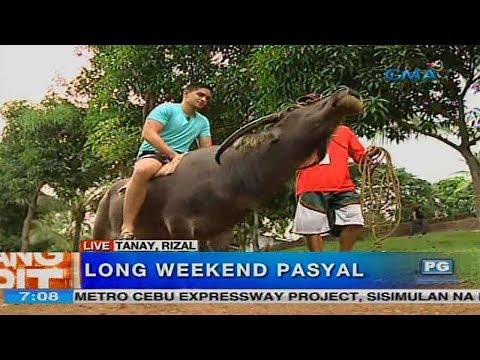 Unang Hirit: Long Weekend Pasyal sa Tanay, Rizal