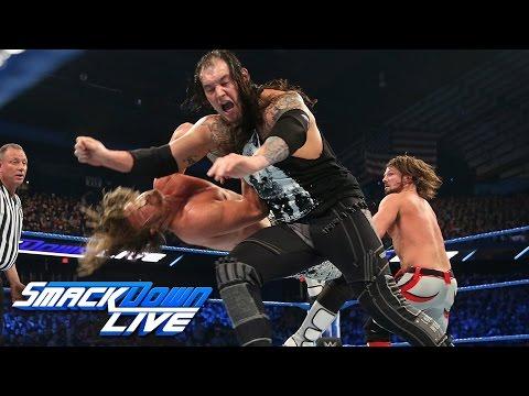Dolph Ziggler vs. Baron Corbin vs. AJ Styles- WWE Title Triple Threat Match: SmackDown LIVE, Dec. 27
