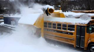 Snowblower for School Buses