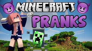 Minecraft Fun Pranks!