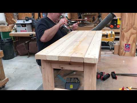 Building a Simple Coffee Table