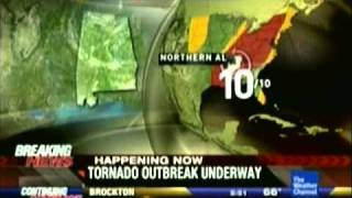 TWC April 27 2011 Mega tornado outbreak part 3