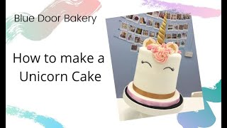 How to make a Unicorn Cake - Tutorial