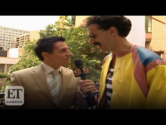 Sacha Baron Cohen Explains 'Borat' TIFF Premiere | FROM THE VAULT
