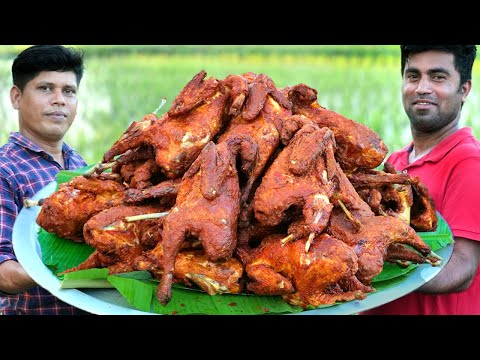 FULL CHICKEN FRY | Yummy Fried Chicken Recipe | Cooking Skill. ENG SUB