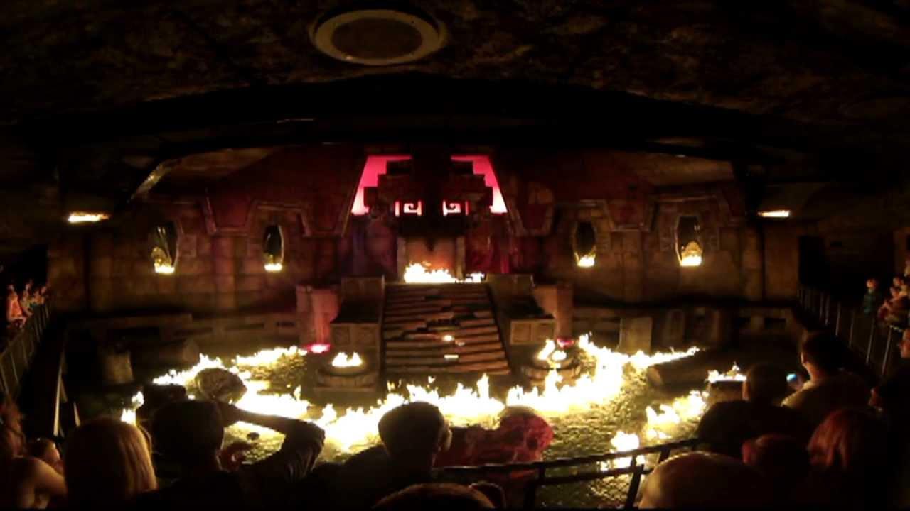 Templo Del Fuego 2013 Portaventura Youtube