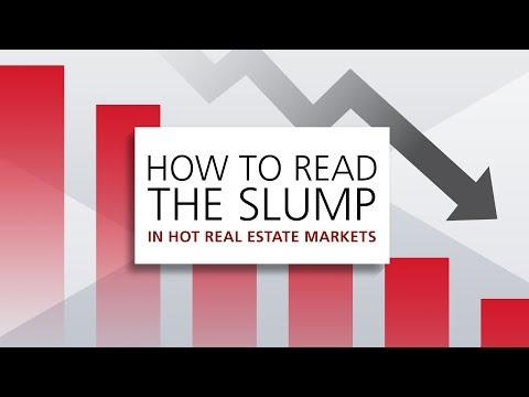 How to read the slump in hot housing markets