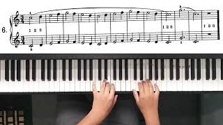 Beyer op 101 no. 6 - classical piano (played by Rizky 'Eky' Januardi)