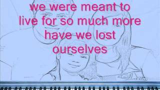 Switchfoot - meant to live karaoke