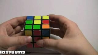 Как собрать Кубик Рубика 3х3 (Первый и Второй слой) 2\4