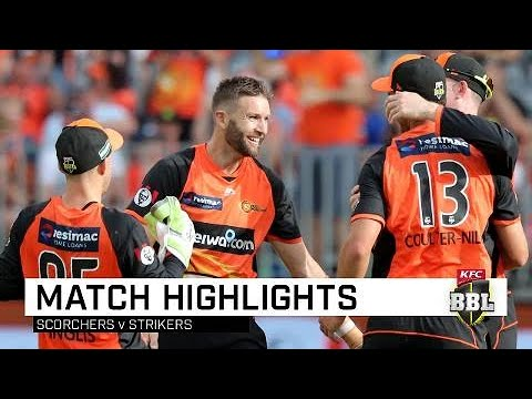 Scorchers register first win of BBL|08