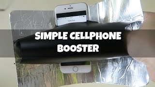 Simple DIY Cellphone Booster