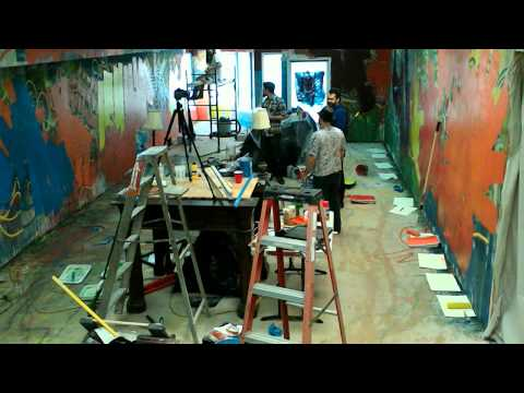Shasta Mural Day 2 - Timelapse Lost Footage