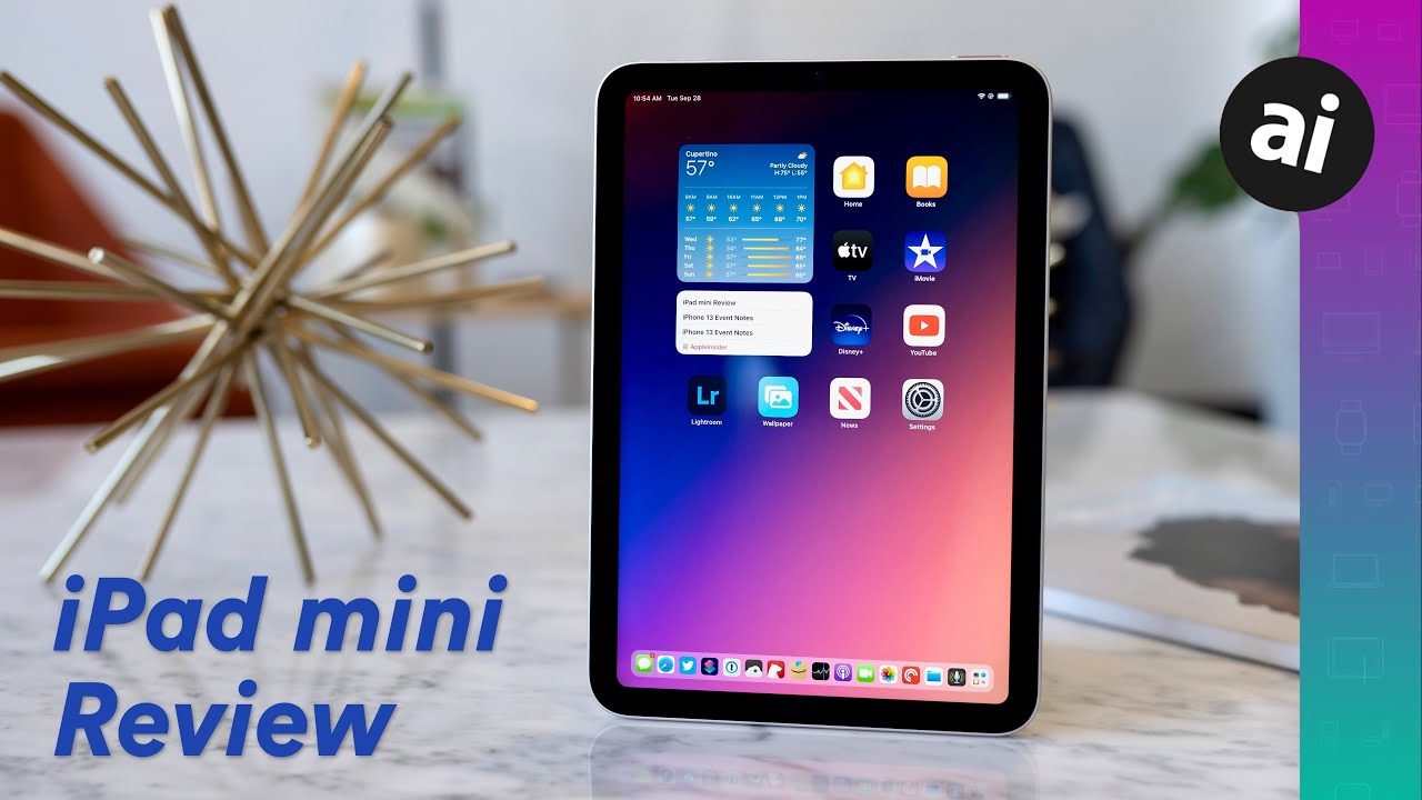 iPad mini 2021 review: Delightfully small with few caveats