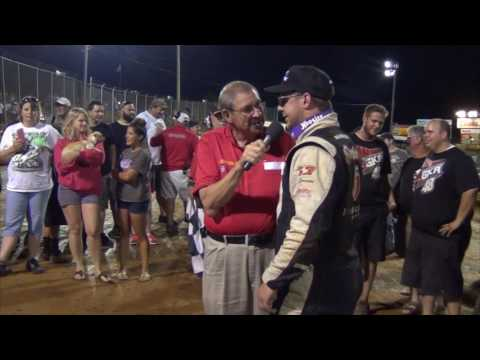 Lincoln Speedway All Star Circuit of Champions Victory Lane 8-20-16