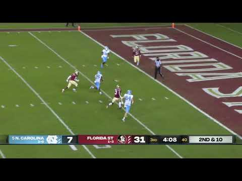 Video: Tar Heels' Comeback Comes Up Short vs Florida State - Highlights