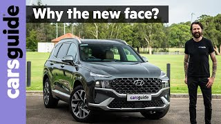 Hyundai Santa Fe 2021 review - Have they updated the 7-seat SUV enough?
