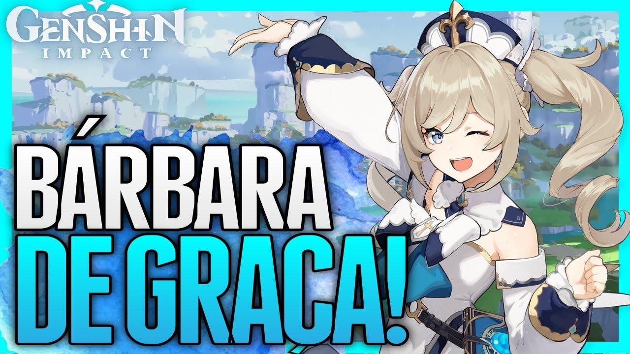BÁRBARA de GRAÇA! DOWNLOAD LIBERADO! VENTI BANNER REVELADO! SÓ evento TOP! | GENSHIN IMPACT
