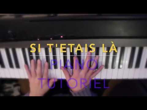 SI T ETAIS LA - LOUANE - PIANO Tutoriel Facile Pour Débutants + Partition