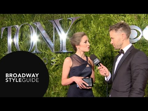 Tony Awards Red Carpet with Christopher Hanke