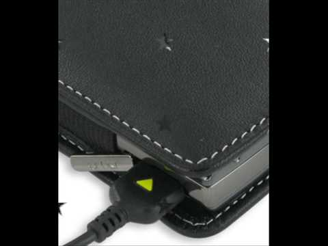 Leather Case for Samsung Epix SGH-i907 - Vertical Pouch Type Belt clip inluded (Black)