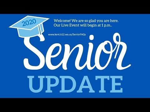 Kent Mountain View Academy and Kent Phoenix Academy Virtual Senior Class Meeting