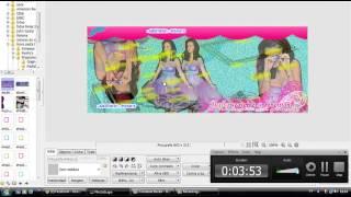 Tutorial - Capa com efeito Glitter - Katy Perry [Simples - Photoscape]