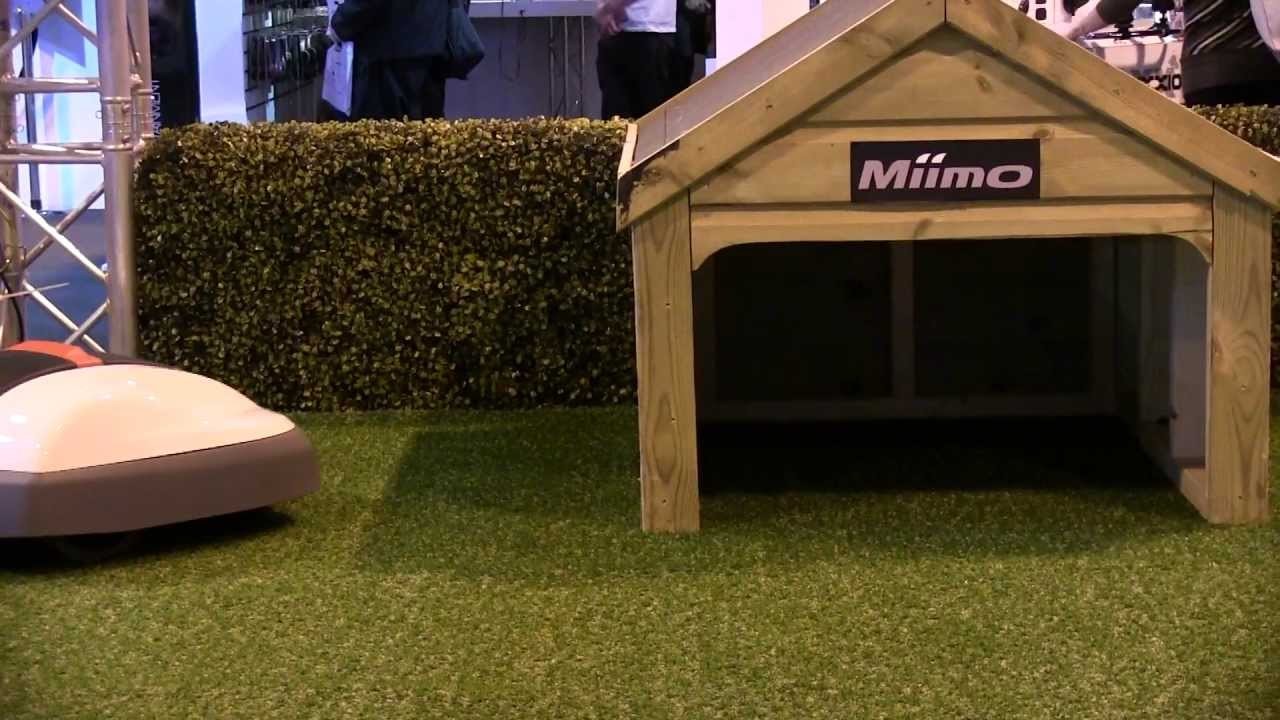 Honda Miimo Robotic Lawnmower Gadget Show Live 2013 Youtube