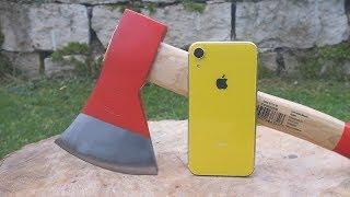 iPhone XR vs AXE