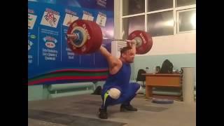 Илья Ильин рывок 189 кг