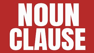 NOUN CLAUSE - Functions of a Noun Clause - Advanced Grammar - SOWJANYA'S ENGLISH CLASS