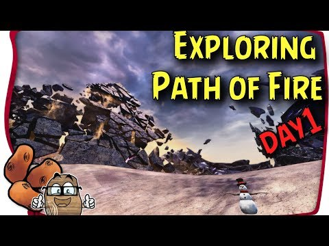 Guild Wars 2 Path of Fire Gameplay - Day 1   Unlocking Weaver, Raptors, Adventure & Brand  NO SPOILZ